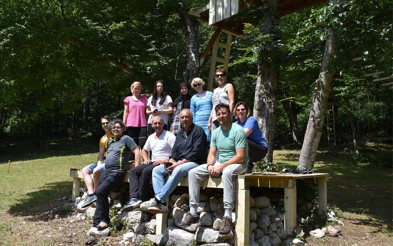 RM Company Team Building Boracko jezero
