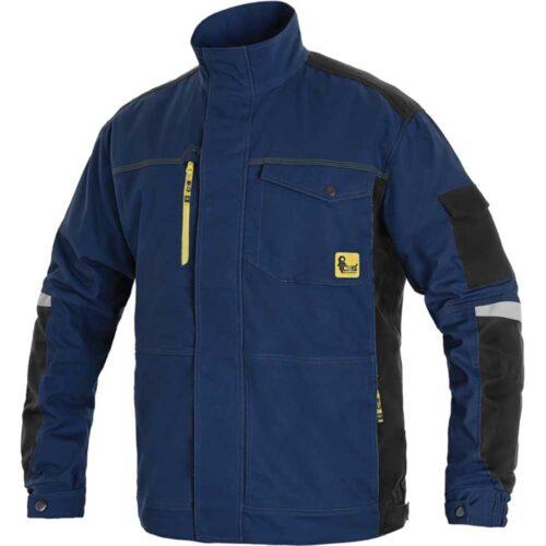Radna-bluza-CXS-Stretch-tamno-plava-crna