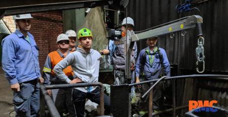 RM Company - Oprema KRATOS. testiranje u Arcelor MIttal - u